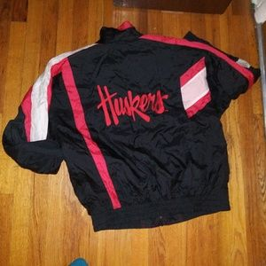 Other - Vtg Nebraska Cornhuskers jacket L